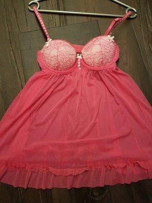 H&M Negligee Pink Weiß