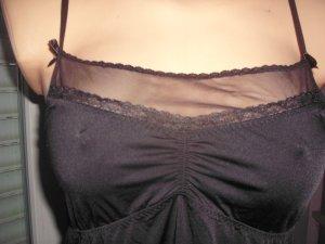 H&M Negligee, schwarz mit Tüll und Spitze, stretchig, Gr. M/38