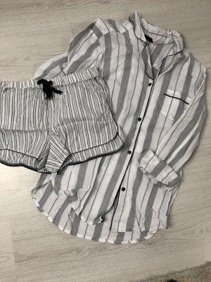 H&m neu gr xs Pyjama Nachtwäsche Schlafanzug Nachthemd