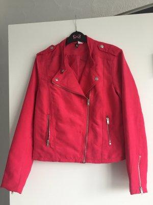 H&M Neu pinkfarbene Jacke im Bikerstyle hoch aktuell