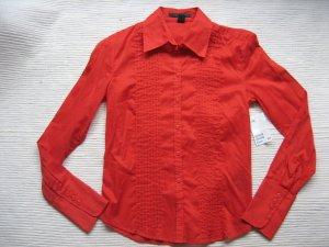 H&M neue bluse rot gr. xs 34 buero