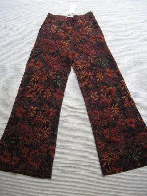 H&M neue hose weithose sommerhose gr. s 36 blumen floral