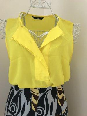 H&M Blusa giallo