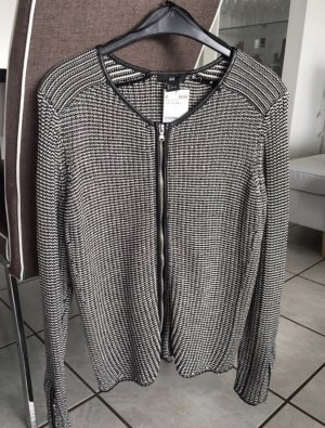 H&M Office Business Cardigan Jacke Blazer Strick Knit L 40/42