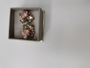 HM Zarcillo color oro-rosa claro