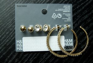 H&M Ohrringe-Set, 3-teilig