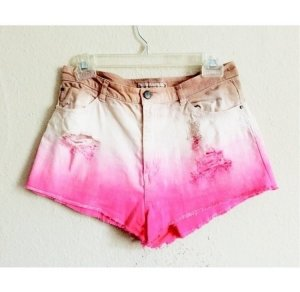 H&M ombré Shorts destroyed