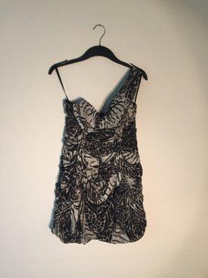 H&M One-Shoulder Kleid 36
