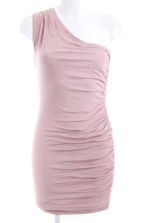 H&M One-Shoulder-Kleid pink Elegant
