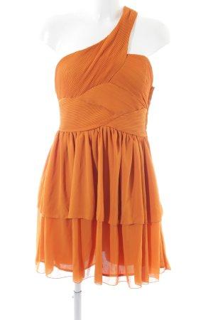 H&M One Shoulder Dress light orange elegant