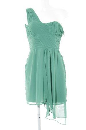 H&M One-Shoulder-Kleid grün Elegant