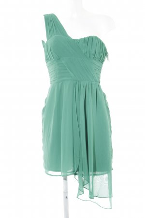 H&M Abito monospalla verde elegante