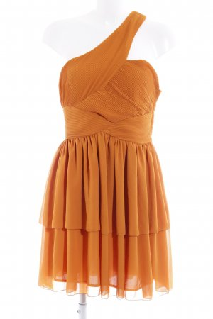 H&M One Shoulder Dress light orange elegant