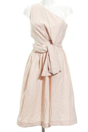 H&M Abito monospalla rosa pallido elegante