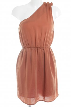 H&M One-Shoulder-Kleid rostrot Beach-Look