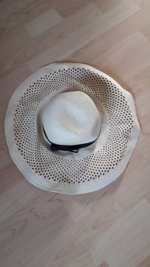H&M Straw Hat oatmeal-black