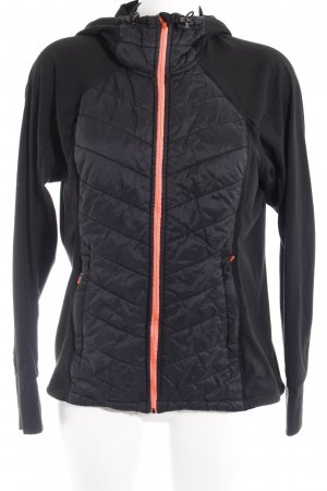 H&M Outdoorjacke schwarz-neonpink Casual-Look