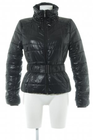H&M Outdoor Jacket black quilting pattern casual look
