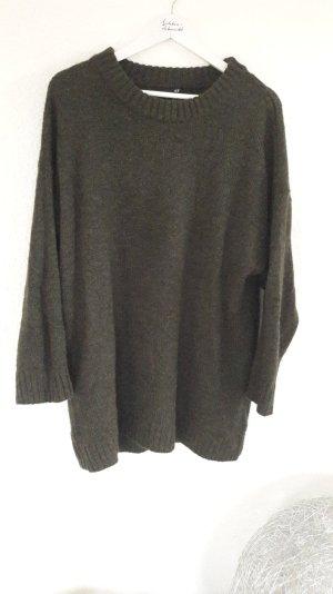 H&M Oversize Boyfriend Loose Fit Long Pullover Pulli Strick Knit