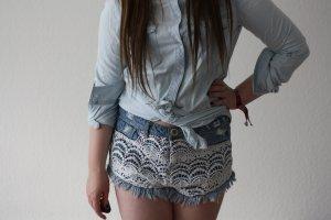 H&M Oversize Long Jeanshemd