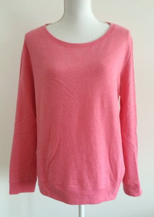 H&M Oversize Pullover Pulli lachs pink