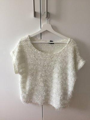 H&M Oversize Shirt in Lametta Optik S