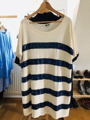H&M oversize Shirt mit Pailletten
