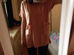 H&M Oversized Apricot Shirt