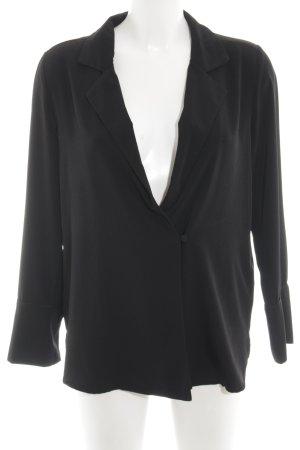 H&M Blusa ancha negro estilo «business»