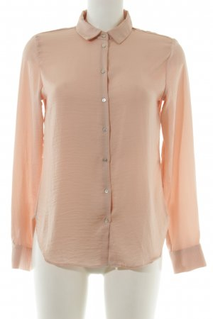 H&M Oversized Bluse nude Business-Look