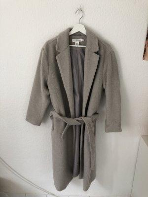 H&M oversized Mantel Graubeige