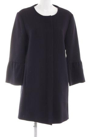 H&M Oversized Mantel dunkelblau Business-Look