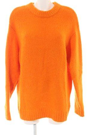 H&M Jersey holgados naranja claro look casual