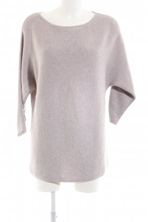 H&M Oversized Pullover hellgrau Casual-Look