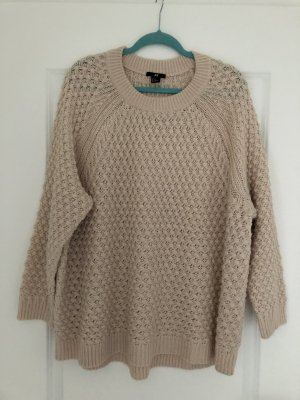H&M Oversized Sweater beige