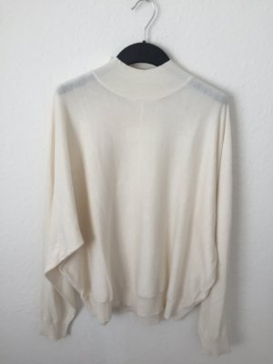H&M oversized Pullover Creme weiß