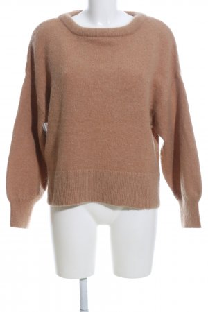 H&M Oversized Pullover braun Casual-Look