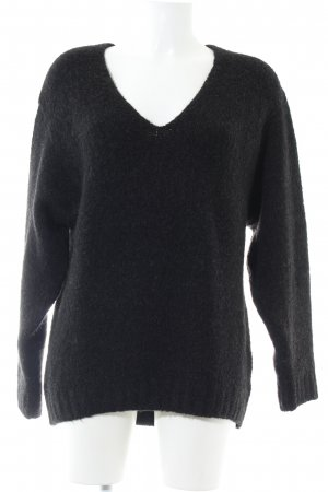H&M Oversized Sweater black casual look