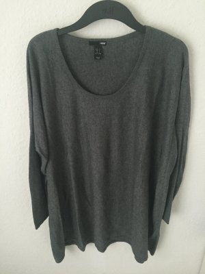 H&M oversized Pullover Grau