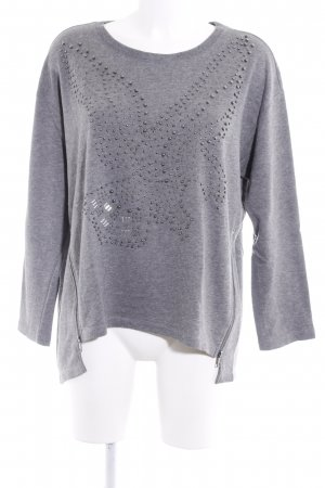 H&M Oversized Pullover meliert Casual-Look