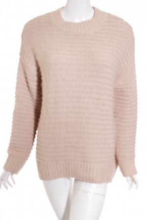 H&M Oversized Pullover nude Casual-Look