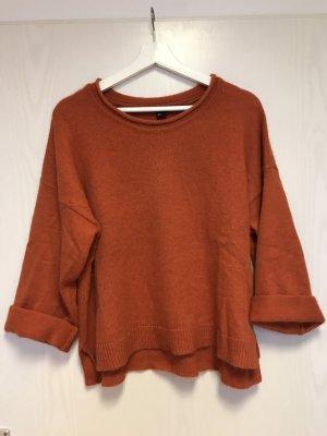 H&M Oversized trui oranje