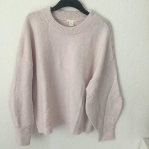 H&M OVERSIZED PULLOVER ROSA