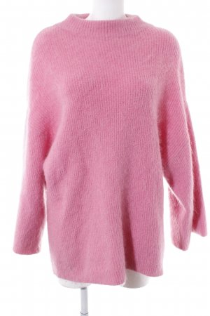 H&M Oversized Sweater pink casual look
