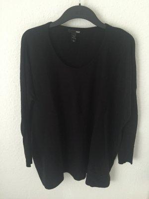 H&M Oversized Pullover Schwarz