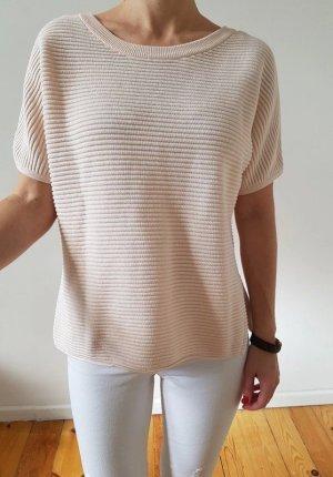 H&M oversized Pullover XS S 34 36 rosa vokuhila Longpulli Strick Longshirt Bluse Tunika Oberteil Neu