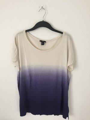 H&M oversized Shirt mit Farbverlauf