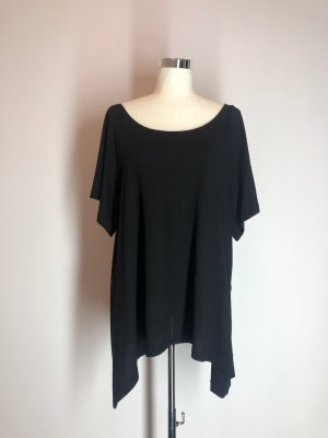 H&M Oversized Shirt black cotton