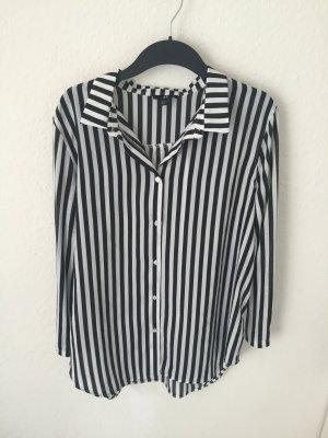 H&M oversized Streifen Bluse