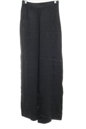 H&M Pallazzobroek zwart casual uitstraling